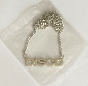 KYLIE MINOGUE * OFFICIAL DISCO ERA NECKLACE * NEW & SEALED * SAY SOMETHING