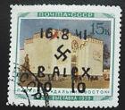 Local Deutsches Reich WWll overprint Alexanderstadt used signed