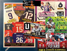Baltimore Ravens (5) Box Football Mixer Case Break Contenders Draft Auto Jersey