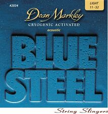 Dean Markley 2034 Blue Steel Acoustic strings Lt 11-52