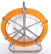 Fish Tape Fiberglass Wire Cable Running Rod Duct Rodder Fishtape Puller 6mm