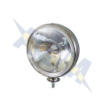 Durite 0-537-51 Large Chrome Driving/Spot Lamp H3 With Side Light - Classic Cars