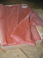 1m de fin velours ancien couleur vieux rose largeur 43cm