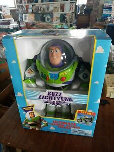 Toy Story Buzz Lightyear Thinkway Talking Action Figure Early Model boxed