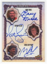 2015 UD Firefly The Verse Triple Actor Autograph Card SFD DRAKE FILLION SHEPPARD