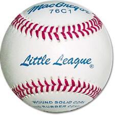 MacGregor 1 Dozen Official Little League Baseballs 76c1