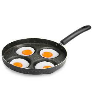 Egg Frying Pan Multiple Egg Cooker Poached Egg Pan for Stove M&W