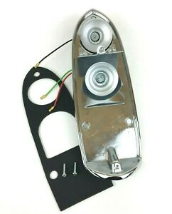 BHA4973 | L840 | Rear Lamp Tail Light Back Plate Housing with Gasket | MG | MGB