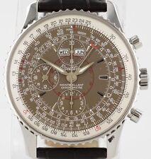 Breilting Navitimer Montbrillant Datora Chrono Day Date 43mm A21330 Steel Watch