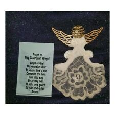 Handmade Guardian Angel,Christmas Ornaments Made Out Of Vintage Lace,Jewelry