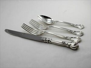 Gorham Chantilly Sterling Silver 4 Piece Place Setting - Luncheon Size