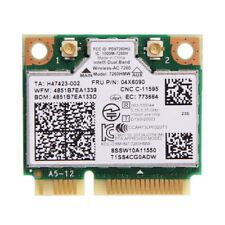 Intel 7260HMW AC Dual Band BT 4.0 Wirelees Wifi Card FRU 04W3814 For Lenovo