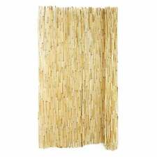 Peeled Reed Fencing Natural