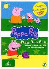 Peppa Pig: Piggy Back Pack 2 (2 Disc)  - DVD - NEW Region 4