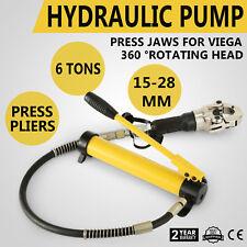 Hydraulik Presszange Kupfer Edelstahl Rohr Radialpresse Heimwerker Handwerkzeuge