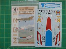 1:32 Scale Mig Fighters of the World Pt. II - Eagle Strike No. 32033 NEW Decals