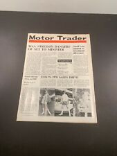 Motor Trader Magazine 25 March / April 1 1970 Esso's Sales Drive