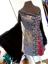 SEXY RENAISSANCE PIRATE WENCH BAR MAID GOTHIC WITCH HALLOWEEN COSTUME LARGE