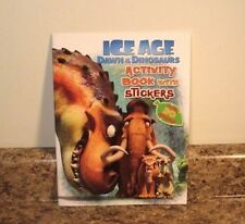 Ice Age Dawn Of The Dinosaurs Activity Book With Stickers NEW