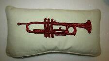 NWT William Sonoma~Decor Pillow 18.5 X 9.5 IN. Beadwork TRUMPET,Free Shipping
