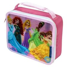 Disney Princess Lunchbox Lunch Box Bag 3-D Insulated Pink NEW