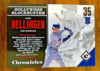 2017 Panini Chronicles #120 CODY BELLINGER RC Blue #/499-  DODGERS