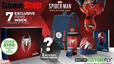 Marvel Spider-Man Collector Box GameStop Exclusive Backpack Mug Beanie Pin New