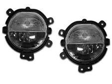 14-15 Mini Cooper F55 F56 Replacement Driving Fog Light w/DRL Pair Left + Right