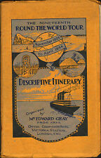 More details for the nineteenth round the world tour ( nov 1933 - ap 1934 ) mr edward gray 1930s
