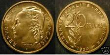 20 francs Essai Gueman 1950 FDC [n°4165]