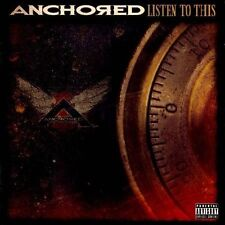 ANCHORED LISTEN TO THIS CD DVD SET PA LIVE HARD ROCK METAL MINT 2012
