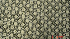 Ivory Lace Floral Bridal/Wedding/Dress Fabric 112 cm Wide SOLD BY THE METRE