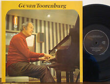 GE VAN TOORENBURG Mega Rare EXC 1980 PRIVATE PRESS LP Dutch Import AUTOGRAPHED