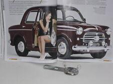 FIAT 1100 / 103 TV DEL '55 - APPENDI GIACCA POSTERIORE CROMATO