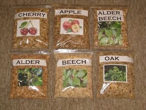 Best Smoking and BBQ Wood Chips APPLE,ALDER,BEECH,CHERRY,OAK,ALDER-BEECH 3 Litre