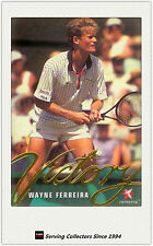 1996 Blitz Australia Tennis Trading Card Victory Subset V8 Wayne Ferreira