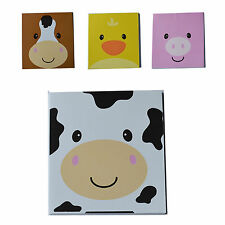 12 Farm Animal Face Notepads|Farm Party|Party Favours|Party Bag Fillers