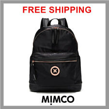 9ac5b140b297 MIMCO Splendiosa Black rose gold Backpack Back pack bag Authentic DF