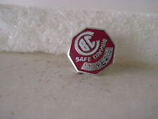 CBC   11 yr safe driver vintage  lapel pin