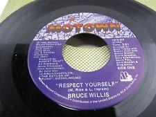 "BRUCE WILLIS Respect Yourself / Fun time  7"" vinyl Record 1876-MF"