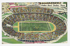 Dallas Texas Cotton Bowl 1948 baptisum day Univ. of Texas vs. Univ. of Oklahoma