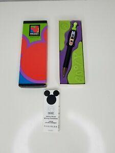 GOOFY Kreisler Mickey unlimited Disney Colibri Pen black green hat New w box