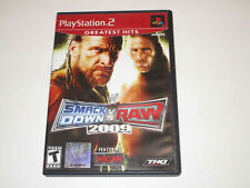 WWE Smackdown vs Raw 2009 for ps2 Complete in Very Good Condition  Free Shipping