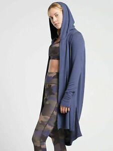 ATHLETA Harmony Wrap L Large | Swept Away Blue CYA Cardigan #485956 NEW