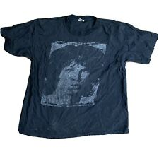 The Doors Shirt Winterland XL Jim Morrison Lyrics VTG 90s Portrait