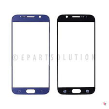 Samsung Galaxy S6 G920 G920F G920A G920T Front Glass Outer Lens Touchscreen Blue