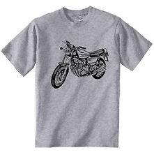 BENELLI 500 quattro Ispirato-Nuovo T-Shirt grigio Cotone-Tutte le taglie in magazzino