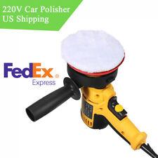 1X 220V Car SUV Polisher Buffer Waxing Polishing Machine 6 Gear Speed Adjustable
