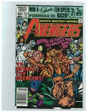 AVENGERS # 216 - FEBRUARY 1982 - BRONZE BARGAIN BOX - FREE SHIPPING