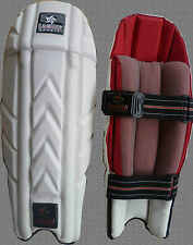 LAEMA Premium Top Grade Elite Cricket Wicket Keeping Pads MENS-Reduced to Clear